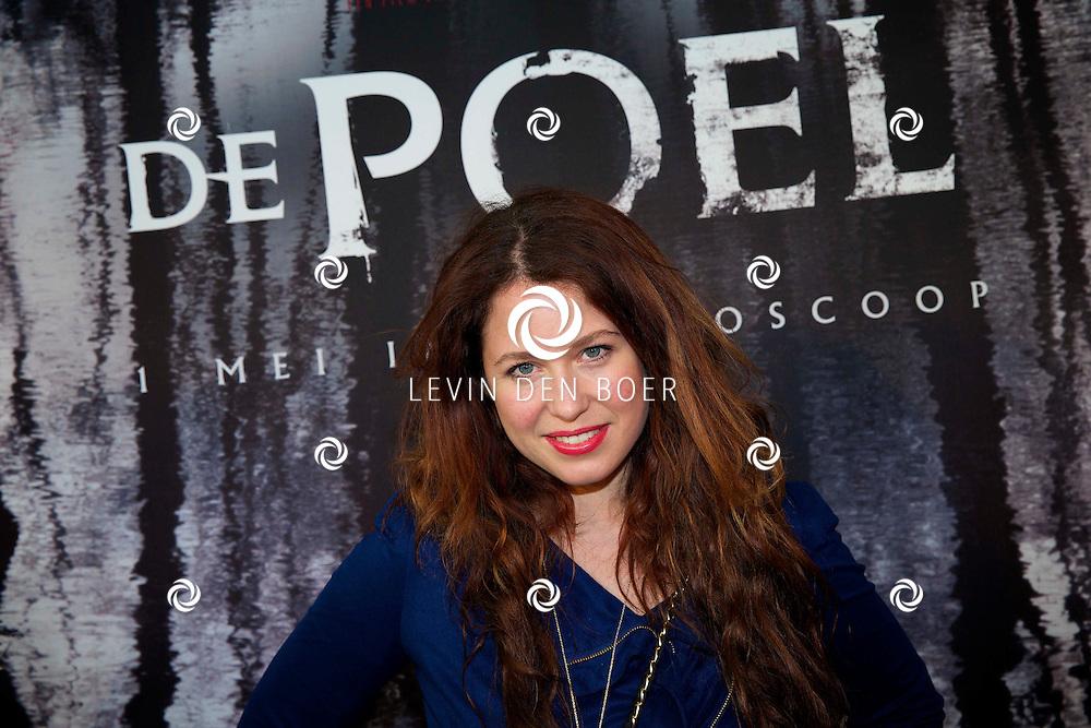 AMSTERDAM - In het EYE is de filmpremière van 'De Poel' is gehouden. Met op de rode loper   Sanne Vogel. FOTO LEVIN DEN BOER - PERSFOTO.NU