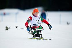 SHYTS Valiantsina, BLR at the 2014 IPC Nordic Skiing World Cup Finals - Sprint