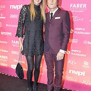 NLD/Amsterdam/201702013- Edison Pop Awards 2017, Annemieke Schollaardt en partner Phill Tilli
