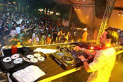 DJ Double S no espaço E-planet do Planeta Atlântida 2013/RS, que acontece nos dias 15 e 16 de fevereiro na SABA, em Atlântida. FOTO: Marcos Nagelstein/Preview.com