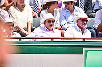 Michel DRUCKER - 05.06.2015 - Jour 13 - Roland Garros 2015<br />
