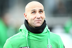 05.12.2015, Stadion im Borussia Park, Moenchengladbach, GER, 1. FBL, Borussia Moenchengladbach vs FC Bayern Muenchen, 15. Runde, im Bild Andre Schubert (Trainer, Borussia Moenchengladbach),Borussia Moenchengladbach - FC Bayern Muenchen, Fussball, 1. Bundesliga, 05.12.2015, Foto: Deutzmann/Eibner // during the German Bundesliga 15th round match between Borussia Moenchengladbach and FC Bayern Muenchen at the Stadion im Borussia Park in Moenchengladbach, Germany on 2015/12/05. EXPA Pictures © 2015, PhotoCredit: EXPA/ Eibner-Pressefoto/ Deutzmann<br /> <br /> *****ATTENTION - OUT of GER*****