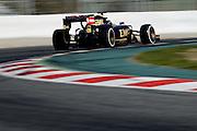 February 26-28, 2015: Formula 1 Pre-season testing Barcelona : Romain Grosjean (FRA), Lotus
