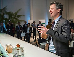 The Danish Crown Prince couple at the business conference in Italy. Wednesday they attended a high level panel discussion with speech by Anders Samuelsen. 07 Nov 2018 Pictured: Crown Prince Frederik. Photo credit: Hanne Juul/Aller MEdia/MEGA TheMegaAgency.com +1 888 505 6342