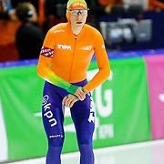 NLD/Heerenveen/20130112 - ISU Europees Kampioenschap Allround schaatsen 2013 dag 2, 1500 meter heren, start Sven Kramer