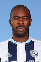 WALSALL, ENGLAND - AUGUST 31: West Bromwich Albion Signing Allan Nyom at West Bromwich Albion Training Ground on August 31, 2016 in Walsall, England. (Photo by Matthew Ashton - AMA/West Bromwich Albion FC via Getty Images)
