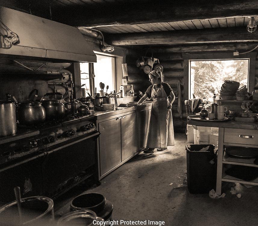 Lake Agnes tea House., Alberta, Canada, Isobel Springett