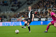 Sean Longstaff of Newcastle United during the The FA Cup third round replay match between Newcastle United and Rochdale at St. James's Park, Newcastle, England on 14 January 2020.