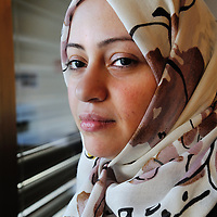 Samar Badawi, Saudi Arabian human rights activist, photographed at the United Nations in Geneva.