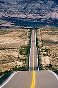Highway 6 near Route 139, S.W. Colorado. USA.