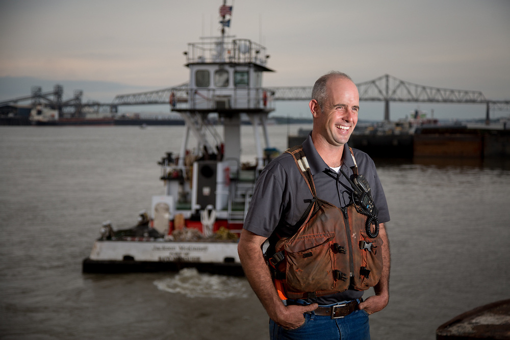 Andy Mckinney with Mckinney Salvage & Heavy Lifting in Baton Rouge, Louisiana.