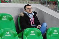 Julian DUPRAZ  - 21.12.2014 - Saint Etienne / Evian Thonon - 19eme journee de Ligue 1<br /> Photo : Jean Paul Thomas / Icon Sport