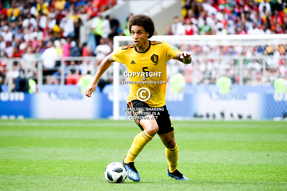 Alex Witsel of Belgium during the FIFA World Cup Group G match between Belgium and Tunisia at Spartak Stadium on June 23, 2018 in Moscow, Russia. (Photo by Anthony Dibon/Icon Sport)