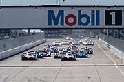 March 12-15, 2019: 1000 Miles of Sebring, World Endurance Championship. Start of the WEC 1000 miles of Sebring, 8 Toyota Racing, Toyota TS050 Hybrid, Sebastien Buemi, Kazuki Nakajima, Fernando Alonso leading
