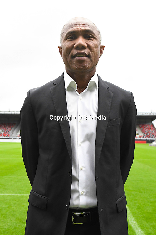 Head coach Antoine Kombouare of Guingamp during the Photo shooting of En Avant Guingamp on september 27th 2016<br /> Photo : Philippe Le Brech / Icon Sport