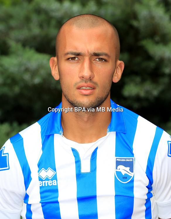 Italian League Serie A -2016-2017 / <br /> ( Delfino Pescara Calcio 1936 ) - <br /> Ahmad Benali