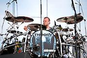 Theory of a Deadman performing at Carolina Rebellion at Metrolina Expo in Charlotte, NC on May 7, 2011
