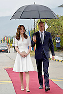 Kate Middleton & Prince William Depart Bhutan