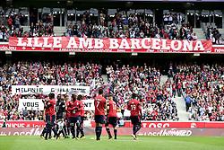 August 20, 2017 - Lille, France, France - minute de silence en hommage aux victimes des attentats survenus en Catalogne (Credit Image: © Panoramic via ZUMA Press)