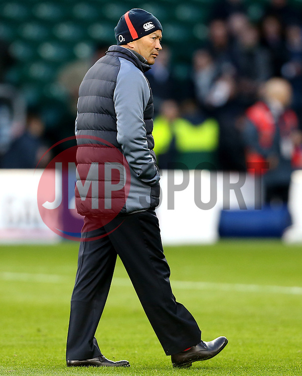 England head coach Eddie Jones - Mandatory by-line: Robbie Stephenson/JMP - 04/02/2017 - RUGBY - Twickenham - London, England - England v France - RBS Six Nations