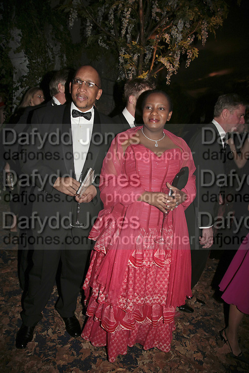 Prince Seeiso and Princess Mabereng, British Red Cross Ball, Waterloo. London. 16 November 2006.  TIME USE ONLY - DO NOT ARCHIVE  © Copyright Photograph by Dafydd Jones 66 Stockwell Park Rd. London SW9 0DA Tel 020 7733 0108 www.dafjones.com