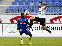 Fotball , 7. juli 2010 , 4. runde NM , Sandefjord - Rosenborg 1-4<br /> <br /> Malick Mane, Sandefjord<br /> Vadim Demidov , RBK