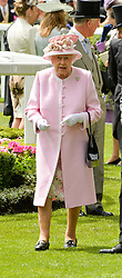 HM The QUEEN at day two of the Royal Ascot 2016 Racing Festival at Ascot Racecourse, Berkshire on 15th June 2016.