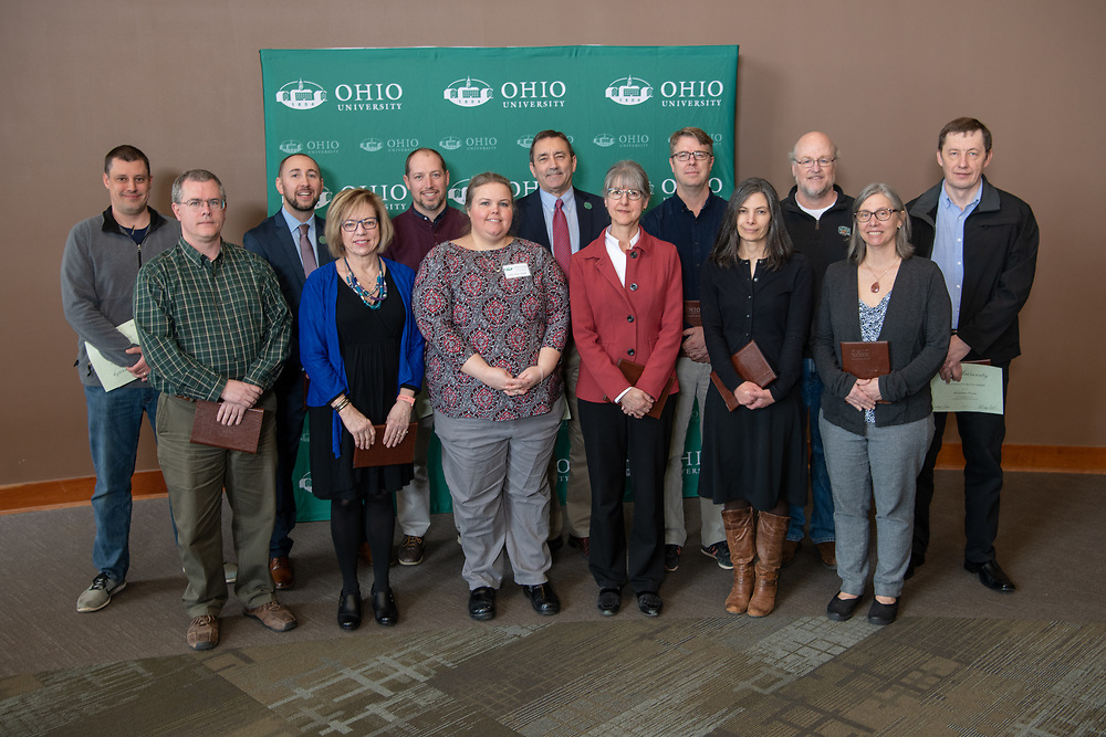 Administrative Service Awards Receipients for 15 Years of Service.