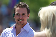 Dancing with the Stars  contestant Drew Lachey seen at the Indy 500 Festival Parade on May 25, 2008. Photo by Michael Hickey