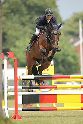 Lüneburg, Rasmuss, <br /> Elmshorn - Holsteiner Pferdetage<br /> Springen Klasse M Finale 5j.<br /> © www.sportfotos-lafrentz.de/ Stefan Lafrentz