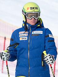 17.01.2017, Hahnenkamm, Kitzbühel, AUT, FIS Weltcup Ski Alpin, Kitzbuehel, Abfahrt, Herren, Streckenbesichtigung, im Bild Nils Mani (SUI) // Nils Mani of Switzerland during the course inspection for the men's downhill of FIS Ski Alpine World Cup at the Hahnenkamm in Kitzbühel, Austria on 2017/01/17. EXPA Pictures © 2017, PhotoCredit: EXPA/ Johann Groder