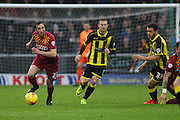 Bradford City defender Rory McArdle on the attack during the Sky Bet League 1 match between Burton Albion and Bradford City at the Pirelli Stadium, Burton upon Trent, England on 6 February 2016. Photo by Aaron Lupton.