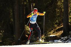Denise Herrmann (GER) during the Women 15 km Individual Competition at day 2 of IBU Biathlon World Cup 2019/20 Pokljuka, on January 23, 2020 in Rudno polje, Pokljuka, Pokljuka, Slovenia. Photo by Peter Podobnik / Sportida