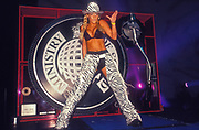 A dancer at Ministry of Sound, Millenium Dome, New Years Eve,  London, U.K, 2001.