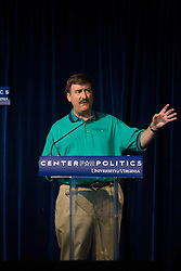 Larry J. Sabato is the Director of UVA's Center for Politics and the Robert Kent Gooch Professor of Politics at the University of Virginia.  The University of Virginia's Center for Politics, founded in 1998 by Professor Larry Sabato, hosted the 11th annual Virginia Political History Project open house at Montesano on the Grounds of the University of Virginia in Charlottesville, VA on June 6 and 7, 2008.