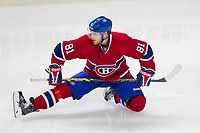 27 May 2014 Montreal Canadiens Center Lars Eller 81 warm Up Before Game Five of The Eastern Conference Final during The 2014 NHL Ice hockey men USA Stanley Cup Playoffs between The Montreal Canadians and The New York Rangers AT The Bell Centre in Montreal Quebec Canada NHL Ice hockey men USA May 27 Eastern Conference Final Rangers AT Canadiens Game 5  <br />