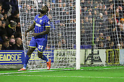 Karleigh Osborne of AFC Wimbledon sees a chance go begging during Sky Bet League 2 match between AFC Wimbledon and Bristol Rovers at the Cherry Red Records Stadium, Kingston, England on 26 December 2015. Photo by Stuart Butcher.