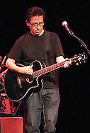 Louis Perez, and the band Los Lobos perform at the the Victoria Theatre, Saturday night, March 17th, in a show presented by CityFolk.