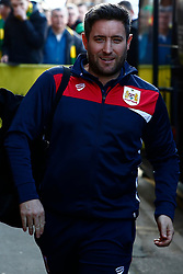 Bristol City head coach Lee Johnson arrives at Carrow Road - Mandatory by-line: Phil Chaplin/JMP - FOOTBALL - Carrow Road - Norwich, England - Norwich City v Bristol City - Sky Bet Championship
