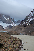 View of Laguna Torre, El Chalten/Mount Fitz Roy, Los Glaciares National Park, Santa Cruz Province, Argentina