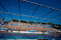 Spectators during the 13th FINA World Championships Roma 2009, on July 26, 2009, at the Stadio del Nuoto,  in Foro Italico, Rome, Italy. (Photo by Vid Ponikvar / Sportida)
