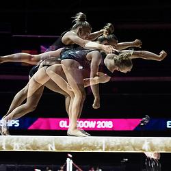 European Championships Gymnastics, Glasgow, 1 August 2018