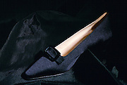 Shoe designed by fashion designer Jimmy Choo, London, United Kingdom.