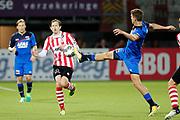 Craig Goodwin of Sparta Rotterdam, Thomas Ouwejan of AZ Alkmaar