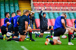 Justin Tipuric takes part in the training session - Photo mandatory by-line: Ryan Hiscott/JMP - 29/10/2018 - RUGBY - Principality Stadium - Cardiff, Wales - Autumn Series - Wales Rugby Open Training Session
