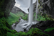 Kvernufoss in South Iceland