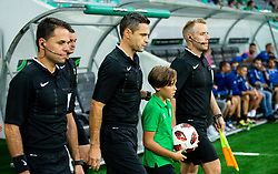Referee Damir Skomina during football match between NK Olimpija Ljubljana and NK Celje in 3rd Round of Prva liga Telekom Slovenije 2018/19, on Avgust 05, 2018 in SRC Stozice, Ljubljana, Slovenia. Photo by Vid Ponikvar / Sportida