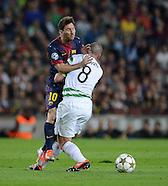 Fussball Uefa Champions League 2012/13: FC Barcelona - Celtic Glasgow