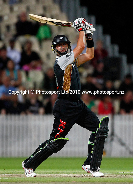 New Blackcap batsman Peter Ingram. KFC Twenty20, New Zealand Blackcaps v Bangladesh, Seddon Park, Hamilton. Wednesday 3rd February 2010. Photo: Simon Watts/PHOTOSPORT