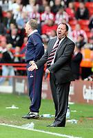 Photo: Mark Stephenson/Richard Lane Photography. <br /> Sheffield United v Cardiff City. Coca-Cola Championship. 19/04/2008. <br /> Bristol manager Gary Johnson